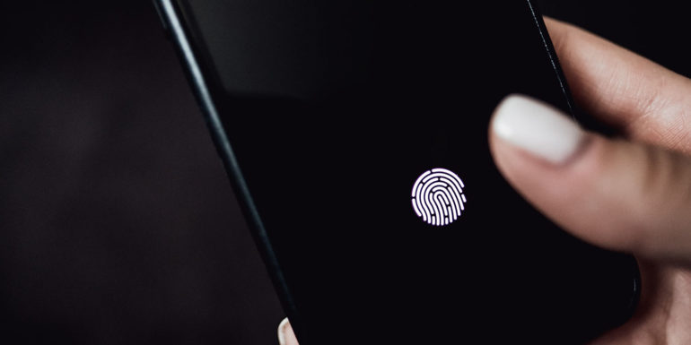 Touch ID sotto al display