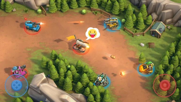Pico Tanks Gameplay