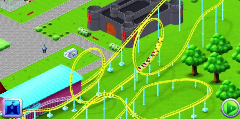 rollcoaster tycoon story gameplay