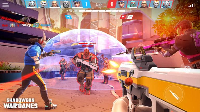 Shadowgun War Games gameplay