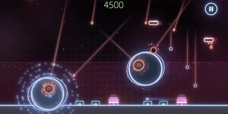 Missile Command Recharged Gameplay