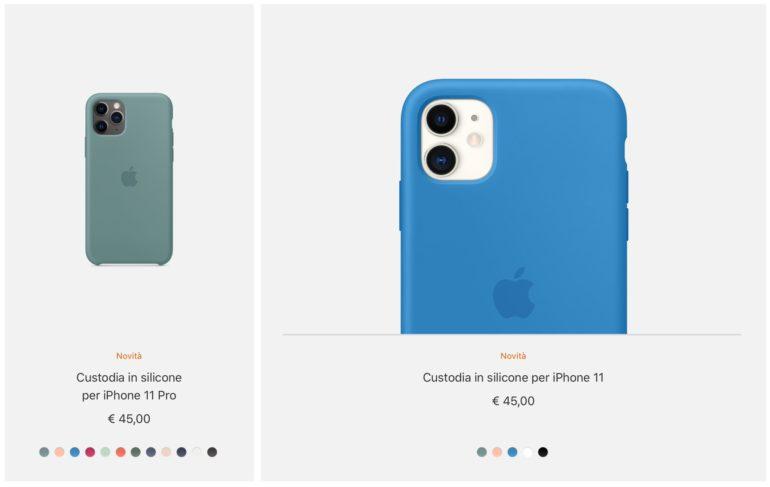 Custodia in silicone per iPhone 11 Pro - Bianco - Apple (IT)