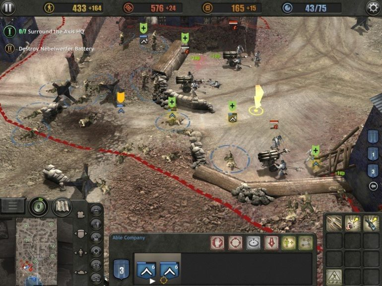 Company of Heroes iphone