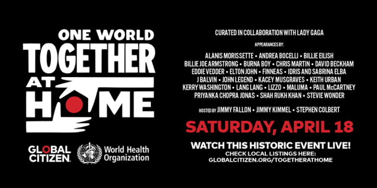 Apple trasmetterà il concerto One World: Together At Home - iPhone ...