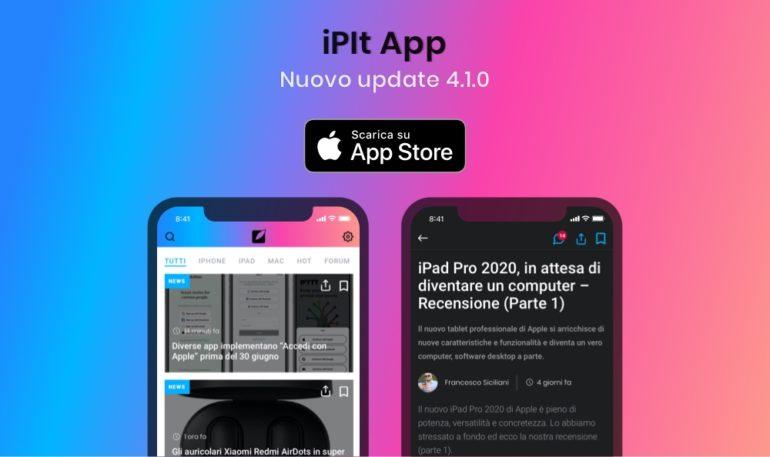 update 4.1.0 ipit app iphoneitalia