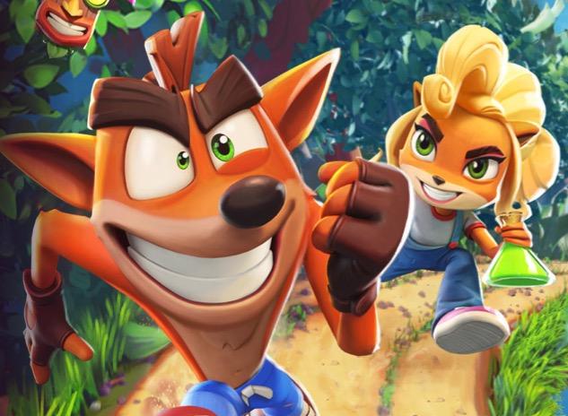 """Crash Bandicoot: On The Run"" arrive …"