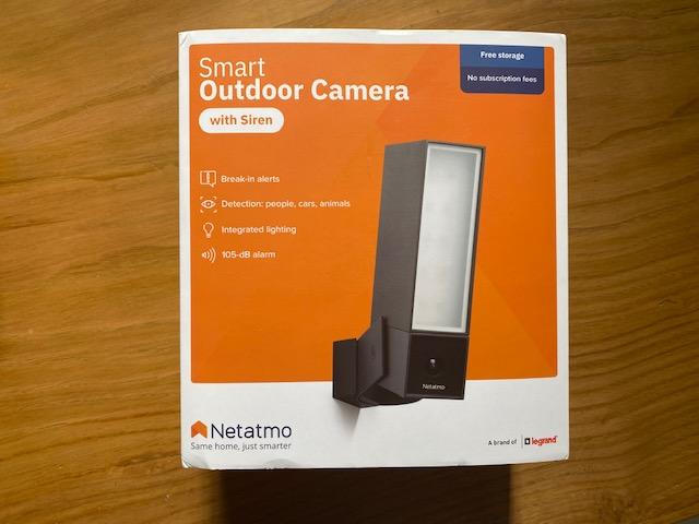 Netatmo Outdoor Camera confezione