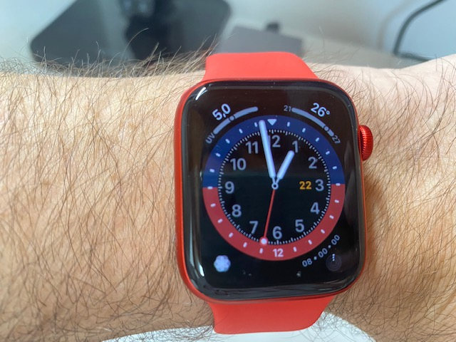 apple watch series 6 red