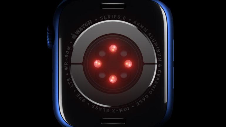 sensori apple watch