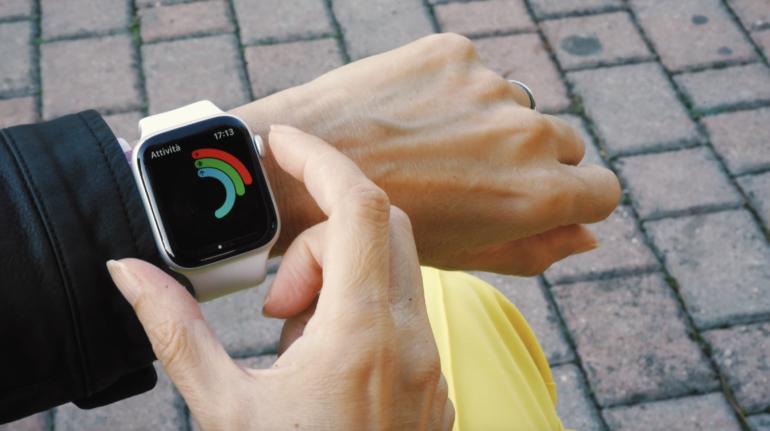 cancellare notifiche apple watch