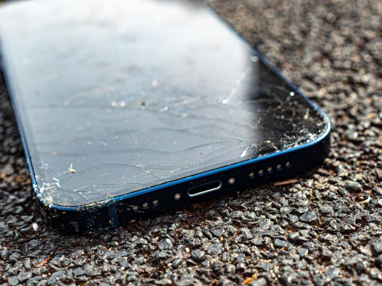 drop test iPhone 12