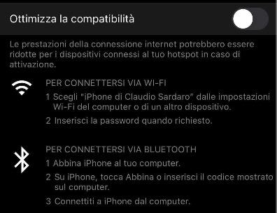 hotspot iphone 12