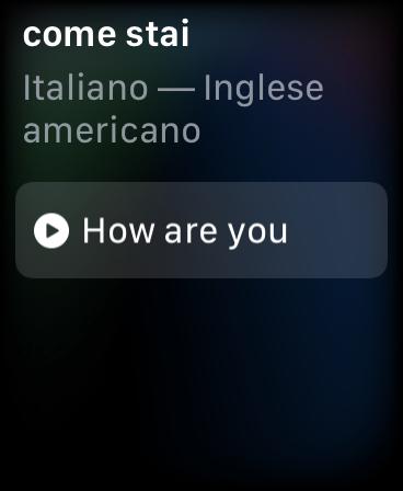traduttore apple watch