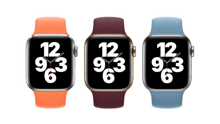 colorazioni cinturini apple watch watchos
