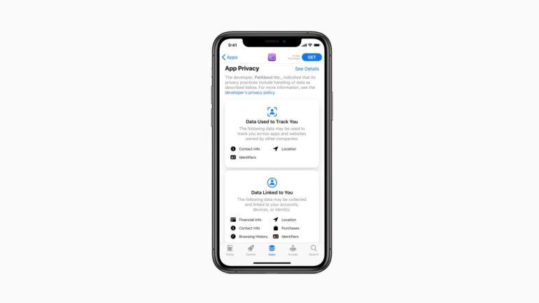 app privacy app store