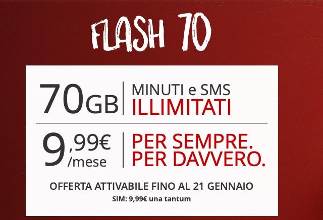 iliad 5g flash 70
