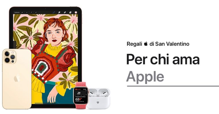 apple san valentino