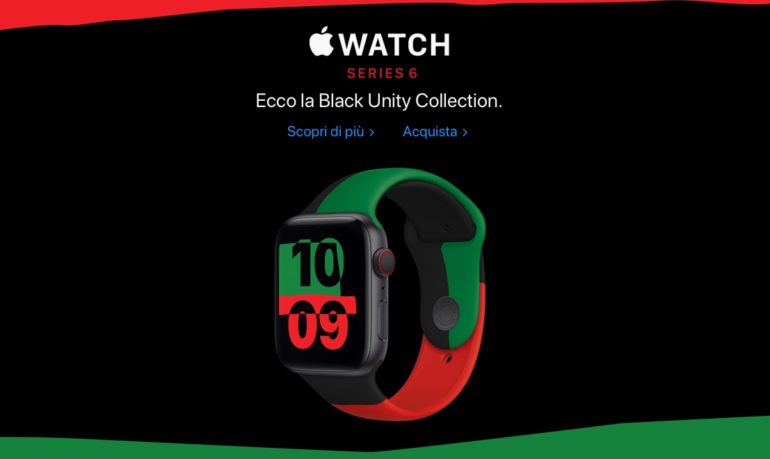 pple Watch Black Unity Collection