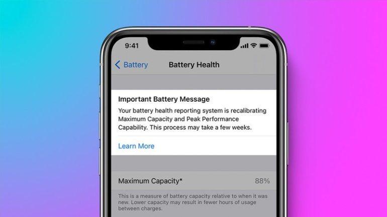 ricalibrazione batteria