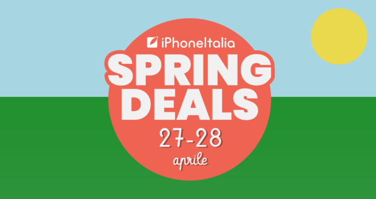 iPhoneItalia spring deals
