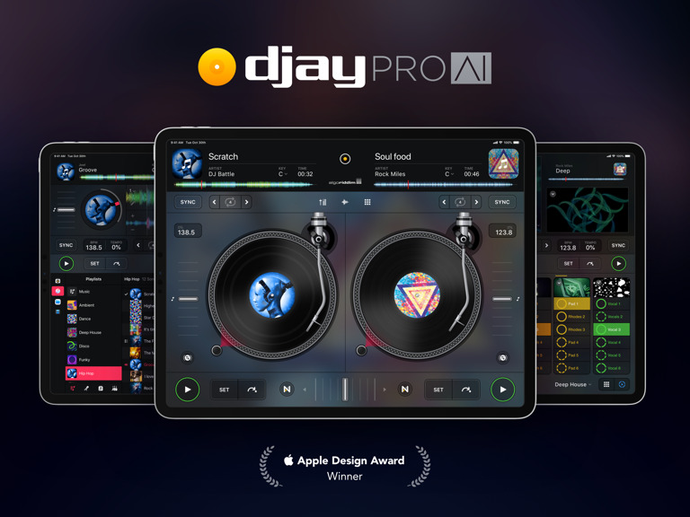 djay Pro si aggiorna con il supporto al  …