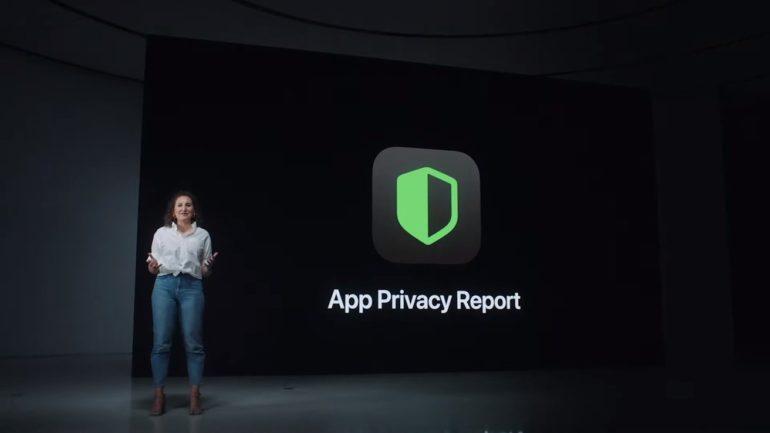 privacy report app iOS 15