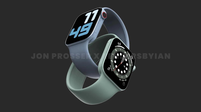 Apple Watch Series 7 appare presso la Co …