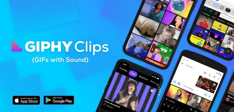 Giphy clips