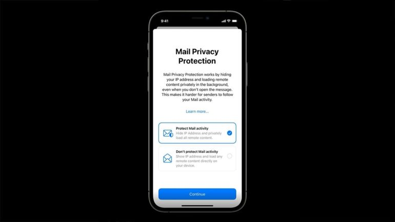 privacy mail ios 15