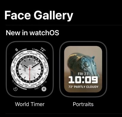quadranti Apple Watch watchos 8