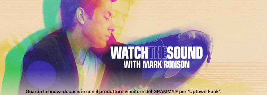 Watch the Sound with Mark Ronson disponi …