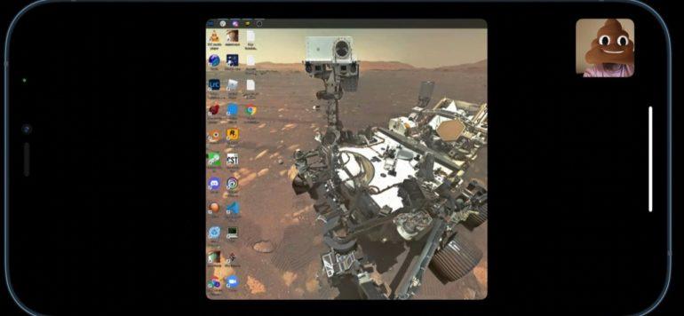 condivisione schermo facetime windows