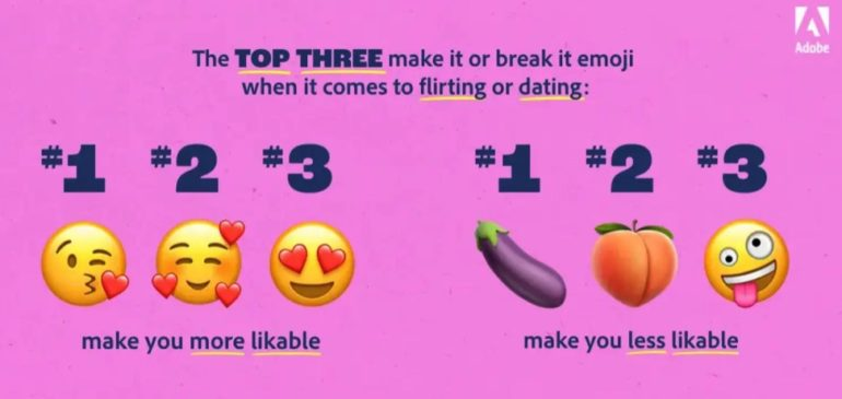 emoji 2021 flirt