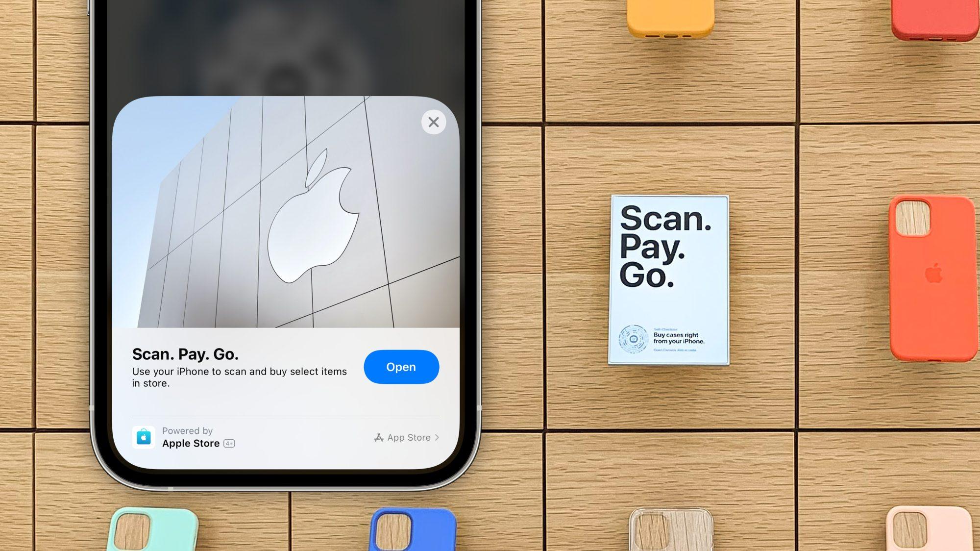 Il check-out automatico di App Clip arri …