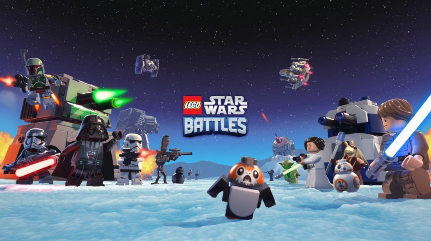 LEGO Star Wars Battles su Apple Arcade d …