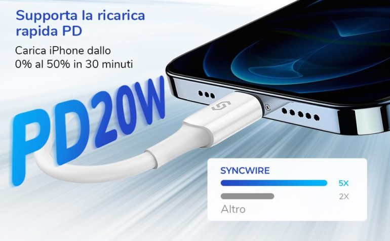 syncwire cavo iphone