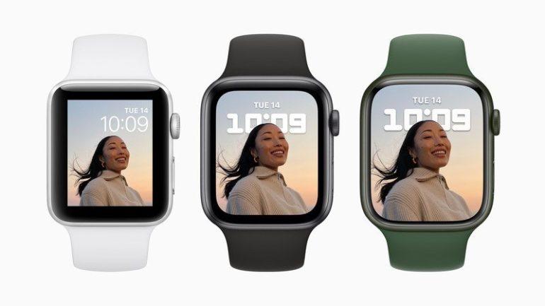 dimensioni apple watch 7