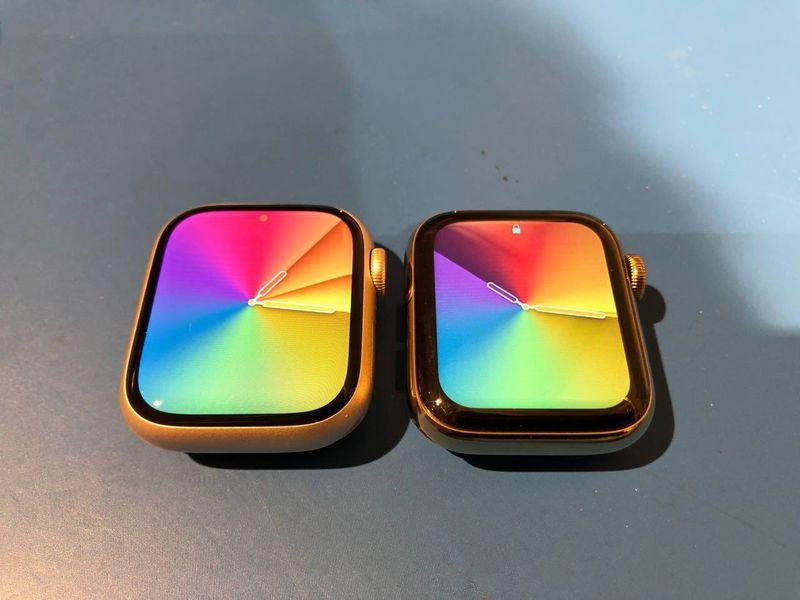 Le dimensioni del display di Apple Watch …