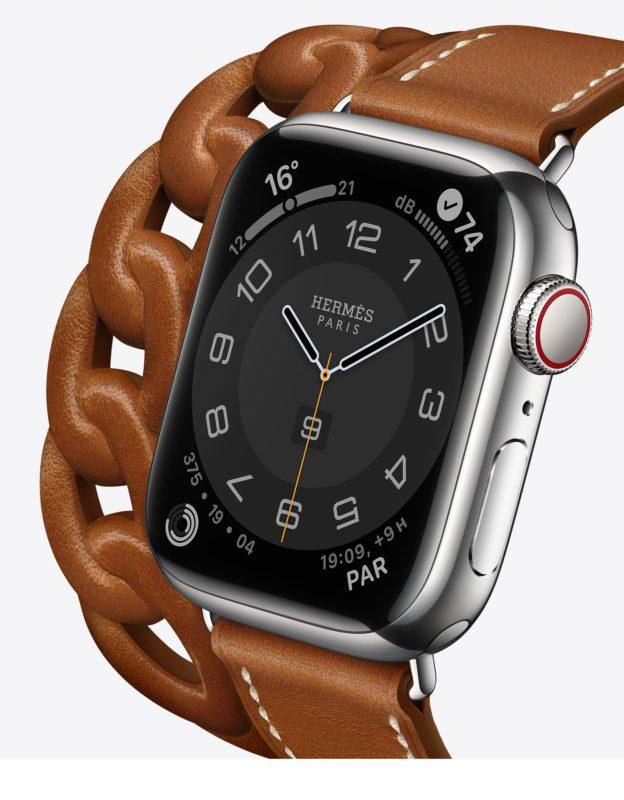 acciaio apple watch 7